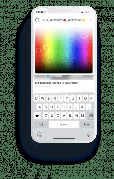 Мобильное приложение Graphica.ai (iOS)