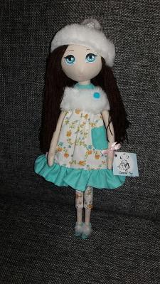 Кукла текстильная, авторская, интерьерная