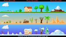 Элементы окружения для игры на Android