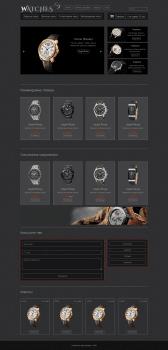 Watches.Верстка интернет-магазина