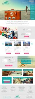 Редизайн сайта туристического агенства