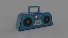 Cartoon Recorder 3D model