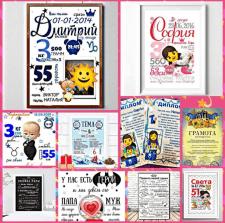 Постери, грамоти візитки