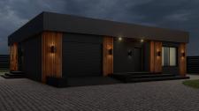 Визуализация загородного дома 2