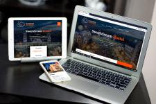 HTML/CSS верстка лендинга для хостела