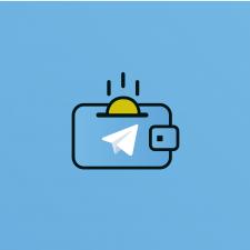 Логотип для телеграм-бота