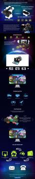 Landing Page по продаже VR очков