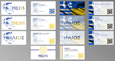 Разработка визитки для греческого сообщества
