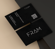 Визитка FRAM