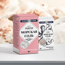 """Разработка дизайна упаковки """"Морская соль"""""""