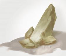 Рисунок камня по уроку в Photoshop