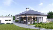 Разработка фасадов для малоэтажного жилого дома