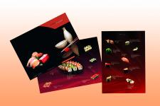 меню суши-бар