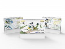 Настольный календарь для Маштехимпорт