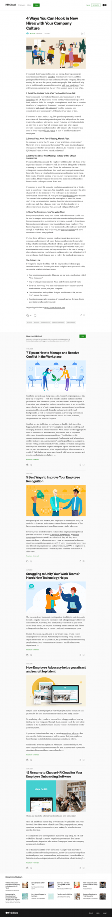 4 Ways You Can Hook in New Hires with Your Company