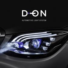 Логотип автомобильных осветительных систем