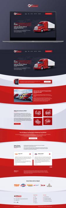 Дизайн сайта Yout Transportation Experts