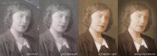 Обработка старой фотографии с добавление цвета.