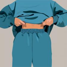 Иллюстрация для бренда женской одежды
