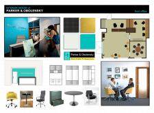 """Дизайн офиса компании """"Parker & Obolensky"""""""