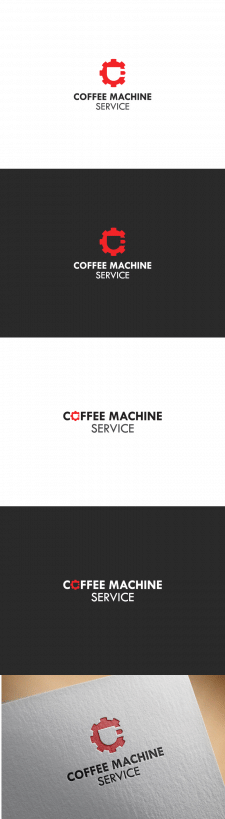 Логотип Coffee Machine Service на конкурс