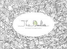 The Doodles Logo for Event Company