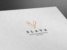 "Логотип ""Барбешоп SLAVA"""