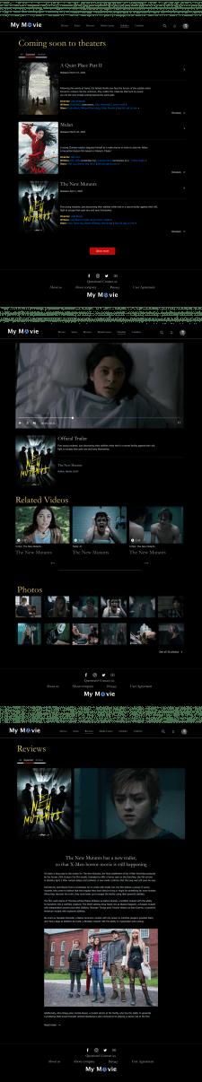 Портал оценки и просмотра фильмов