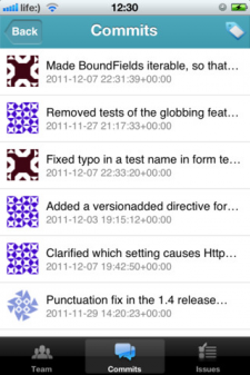 GitLab iPhone Application