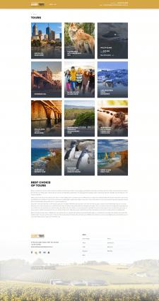 Сайт туристическоого агенства