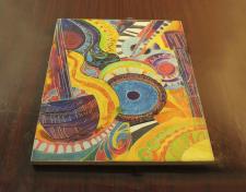 Декоративный натюрморт(батик)