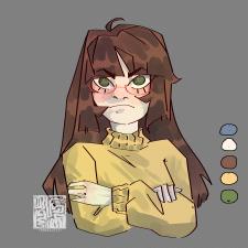 недовольная девушка