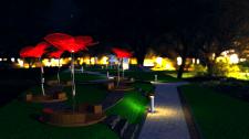 Моделирование парка тюльпанов