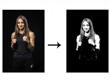 Преобразование фото в логотип
