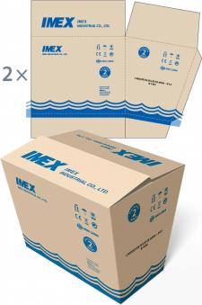 Дизайн упаковки ТМ «Imex»