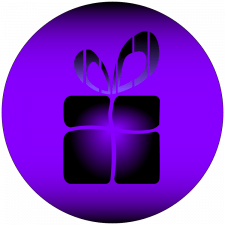 Логотип подарка.