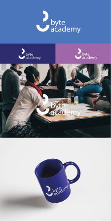 Лого и фирменный стиль для IT-школы