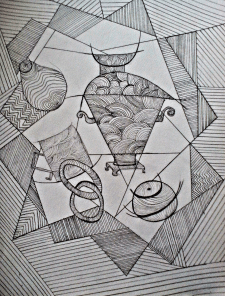Натюрморт абстракция