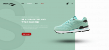 Landing Page - Saucony