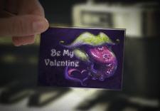 открытка на св. Валентина