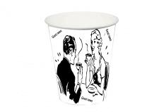 Макет для кофе - стаканчика