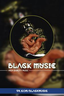 BlackMusic оформление