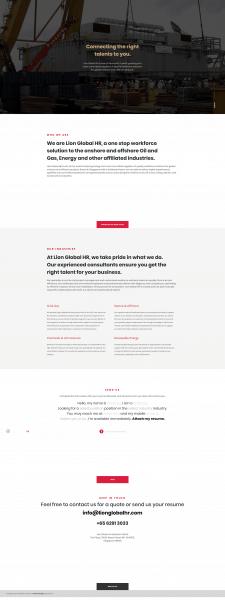 Разработка главной страницы и админки