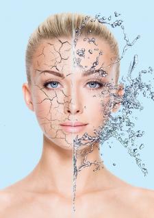 Крем для сухой кожи (фото для рекламы)