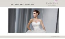Сайт свадебного салона Emilio Ricci