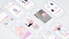 Дизайн моб. додатку для підбору гардеробу
