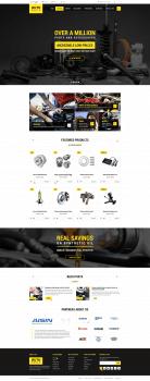 Дизайн интернет-магазина запчастей