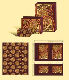Дизайн подарочного пакета