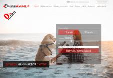 Сайт микрофинансовой компании