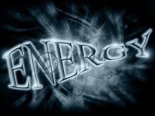 Надпись energy